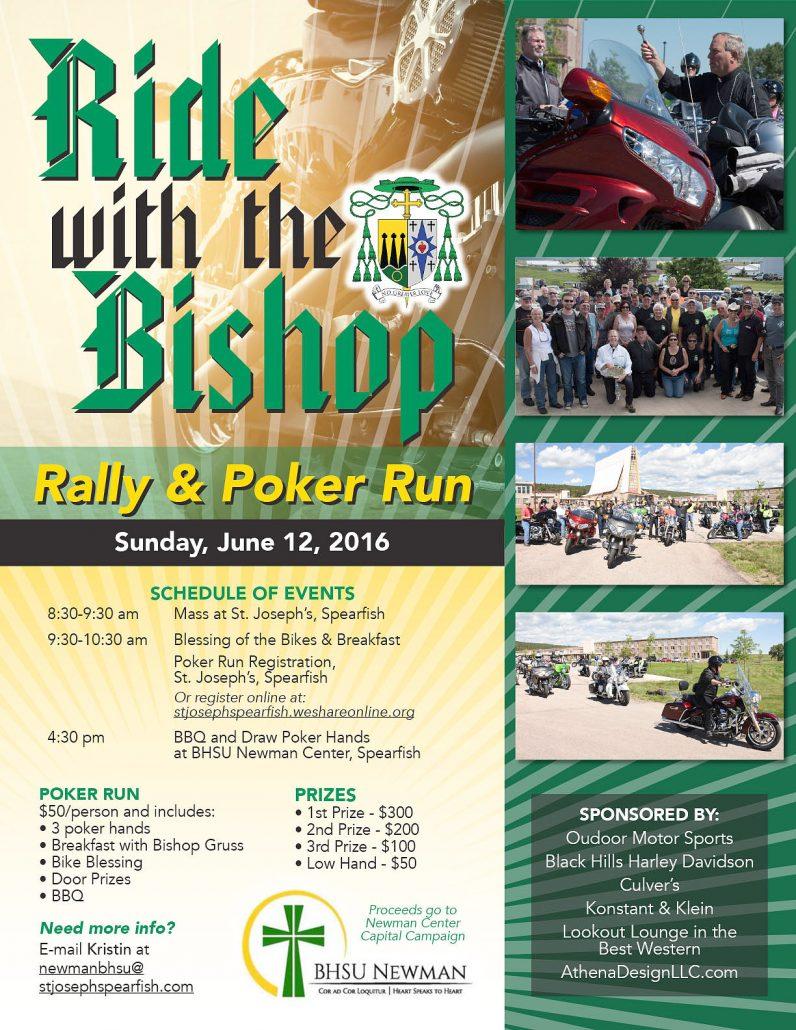 bishops ride flier